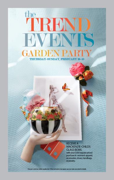 Neiman Marcus Trend Event Signage 14 x 22 Garden Screenshot