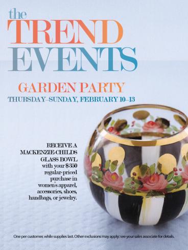 Neiman Marcus Trend Event Signage Garden 3 x 4 Screenshot
